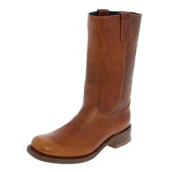 Sendra Boots 3162 Loren Tang Lederstiefel Braun Cowboystiefel 37 EU