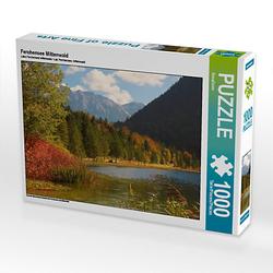 Ferchensee Mittenwald Lege-Größe 64 x 48 cm Foto-Puzzle Bild von SusaZoom Puzzle