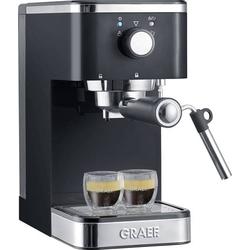 Graef Salita Espressomaschine mit Siebträger Schwarz 1400W