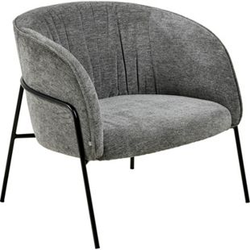 Scube Sessel grau Esszimmer Stuhl Wohnzimmer Clubsessel Cocktailsessel Lounge