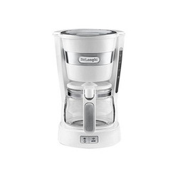 DeLonghi ICM 14011.W Kaffeemaschine weiß