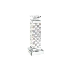 Casa Nova Kerzenständer in silber, 12,7 x 36,2 x 12,7 cm