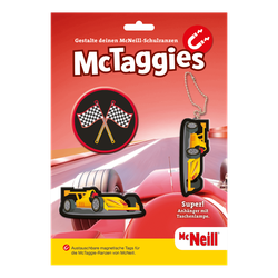 McTaggies Racecar 3tlg. Set