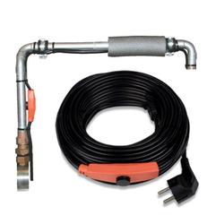 Frostschutz Heizleitung / Heizkabel mit Thermostat - Länge nach Wahl, Länge / Leistung: 18 m / 288 W