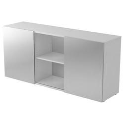 KAPA 1780 | Sideboard | mit Schwebetüren - Grau/Silber Sideboard