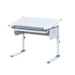 ebuy24 Schreibtisch Stog Schreibtisch mit hebe/senk Platte und 1 Schu