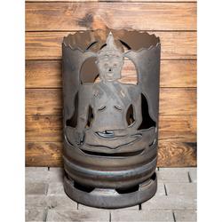 Feuertonne Buddha