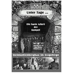 Die Arbeit der Kumpel im Steinkohlenbergbau unter Tage - DVD  Filme
