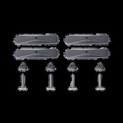 Adapter für T-Nut zur Befestigung von Fahrradhaltern und Dachboxen