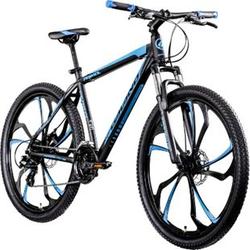 Galano Primal 650B Mountainbike Hardtail 27,5 Zoll MTB Mountain Bike Fahrrad Rad... 48 cm, schwarz/blau