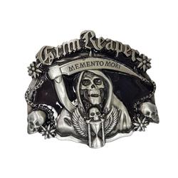 Beier Gürtelschnalle Gothic Gürtelschnalle Grim Reaper