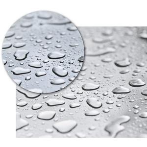 Beautex Tischdecke Transparente Tischdecke Klarsicht Folie, RUND OVAL ECKIG - Stärke 0,30 mm - Größe wählbar (1-tlg) Rund - 110 cm x 110 cm