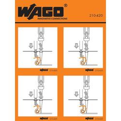 WAGO 210-420 Handhabungsaufkleber 100St.