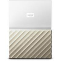 Western Digital My Passport Ultra 3 TB USB 3.0 weiß/gold WDBFKT0030BGD-WESN