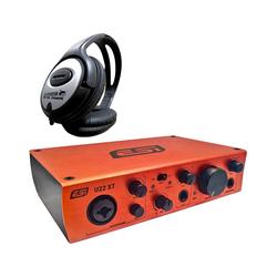 ESI -Audiotechnik Mikrofon ESI U22 XT 2-Kanal USB-Audio-Interface +Kopfhörer
