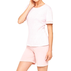 Damen Schlafanzug, kurz Cybèle rose powder