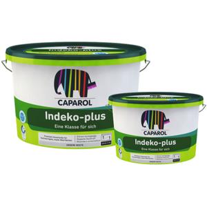 Caparol Indeko Plus weiß - Premium Innenfarbe Wandfarbe - 5 L / 12,5 L
