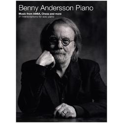 Benny Andersson Piano -Music from ABBA Chess and more - 21 transcriptions for piano solo- (Piano Solo Book)