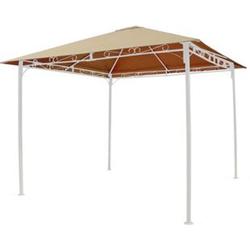 Grasekamp Ersatzdach 3x3m Sand universal zu  Antik Pavillon Gartenpavillon Partyzelt  Plane Bezug
