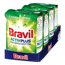 Bravil Vollwaschmittel Activ Plus 30 WL, 4er Pack
