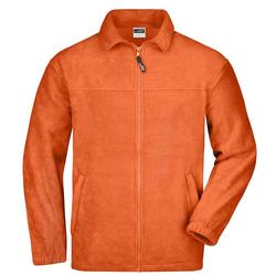 Fleecejacke Full-Zip | James & Nicholson orange