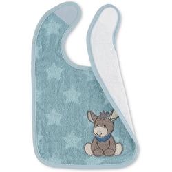 Sterntaler® Lätzchen Plastik-Klettlätzchen Emmi blau