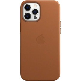 Apple iPhone 12 Pro Max Leder Case mit MagSafe sattelbraun