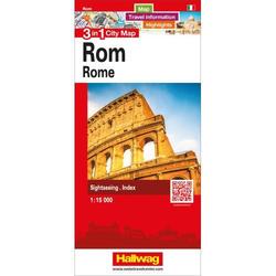 Stadtplan Rom 1:15 000