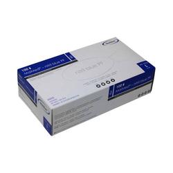 MaiMed® – nitril blue PF 100 Stk/Box Nitrilhandschuh EN 455 Kat. 3 blau Größe L