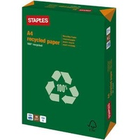 Staples Recyclingpapier A4 80 g/m2 500 Blatt (5397876)