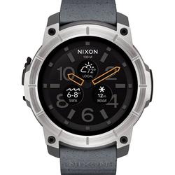 Nixon Smartwatch Mission grau