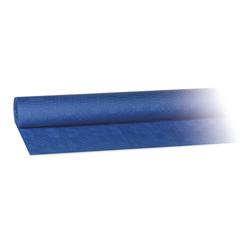 Damasttischdecke Tischtuch aus Papier, gerollt 1,00m x  50m, blau