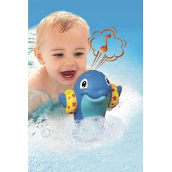 Delfinpfeifer Wasserspielzeug Blau oder Rosa Tomy