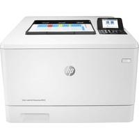 HP Color LaserJet Enterprise M455dn Farblaserdrucker (Drucker, LAN, Duplex, 300-Blatt Papierfach) weiß
