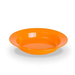 Kinderzeug Teller tief BRISE 19cm orange