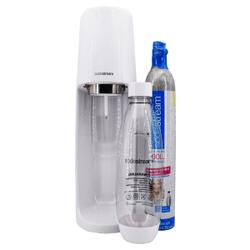 SodaStream EASY Wassersprudler, weiß, Eleganter Trinkwassersprudler im edlen Design, 1 Stück
