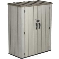 Lifetime XXL Kunststoff-Geräteschrank 1,36 x 0,70 x 1,72 m grau