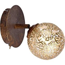 Paul Neuhaus GRETA 9031-48 Wandstrahler G9 40W LED, Halogen Rost, Gold