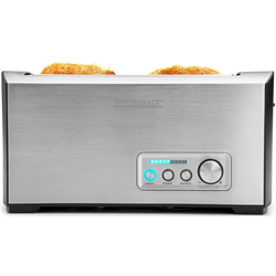 Gastroback Toaster Pro 4S 42398, 1 langer Schlitz, für 4 Scheiben, 1500 W