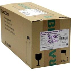 NATRIUMHYDROGENCARBONAT B.Braun 8,4% Glas 2500 ml