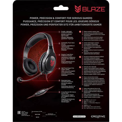 CREATIVE SB BLAZE GAMING HEADSET