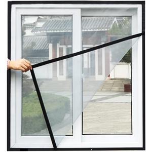 Universelles Fliegengitter für Fenster, Katzenschutznetz, Fliegengitter, Moskitonetz für Fenster, selbstklebend, Insektenschutz, Insektenschutz, Bienenschutz-Set
