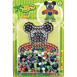 Hama® Bügelperlen Maxiperlen Teddy mit 250 Perlen