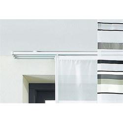 Schienensystem, sunlines, ausziehbar weiß Gardinenschienen Gardinen Vorhänge Gardinenstangen