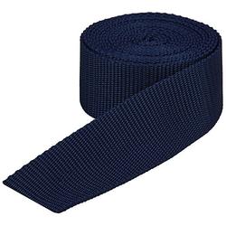 buttinette Taschengurtband, marine, Breite: 4 cm, Länge: 3 m