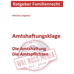 Amtshaftungsklage als Buch von Michael Langhans