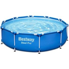 BESTWAY Steel Pro Frame Pool Set 305 x 76 cm inkl. Filterpumpe