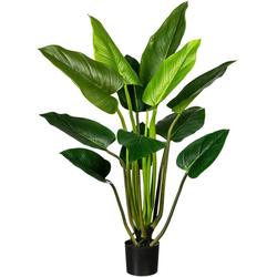 Künstliche Zimmerpflanze Philodendron Philodendron, Creativ green, Höhe 130 cm, im Hängetopf