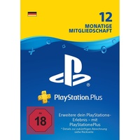 Sony PS Plus Mitgliedschaft 12 Monate (DE)