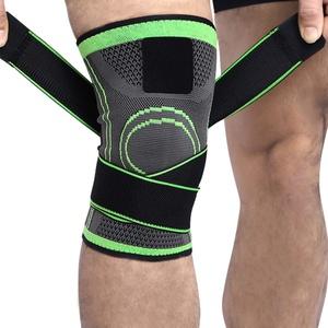 2 x Kniebandage für Damen & Männer   Zum Schutz von Meniskus & Knie   Elastische atmungsaktiv Knieschoner mit Kompression für mehr Stabilität beim Sport und im Alltag   Knieschützer (XXL(50-60CM))